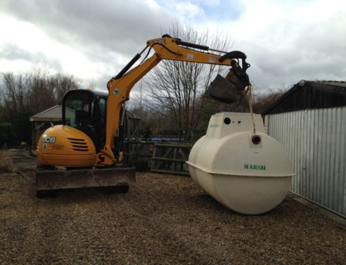 Sewage Treatment Plant Solution in Horsham, West Sussex